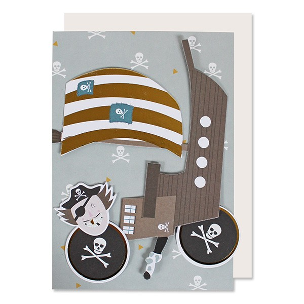 Ava & Yves Glückwunschkarten Set Pirat