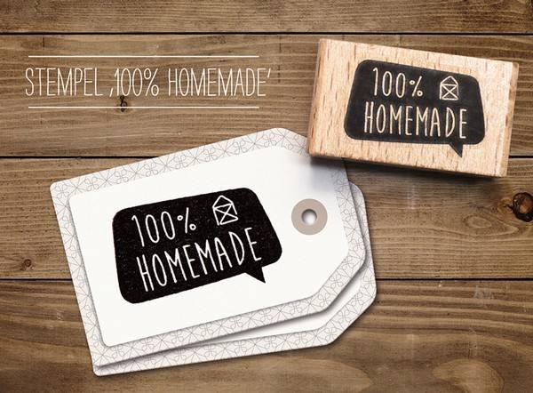 cats - Stempel 100% Homemade