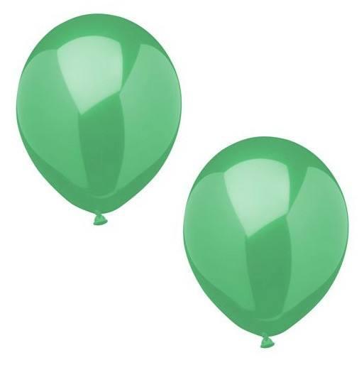 Luftballonset uni grün