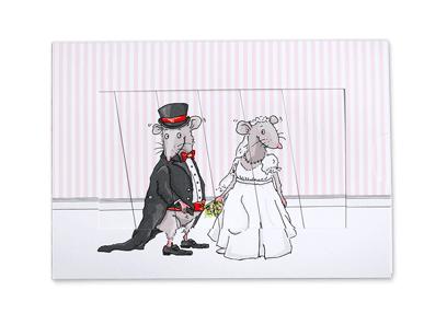Krima & Isa - Schiebekarte Hochzeit