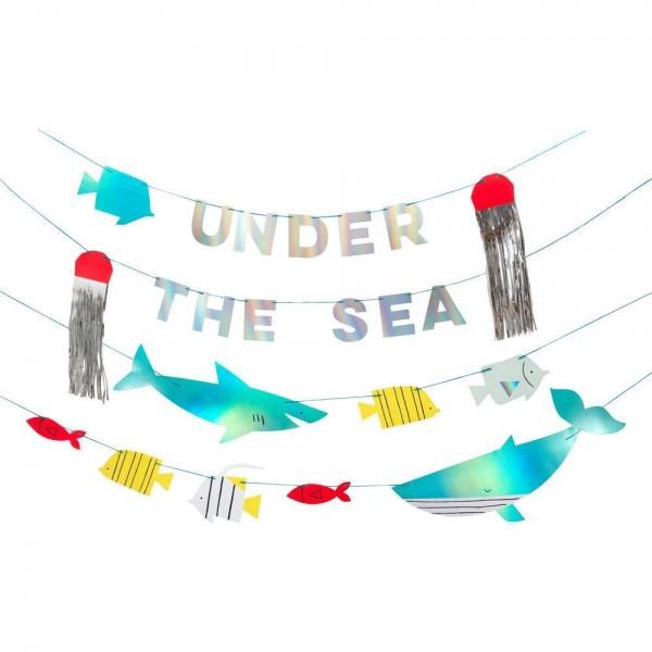 Meri Meri - Girlande Unterwasserwelt