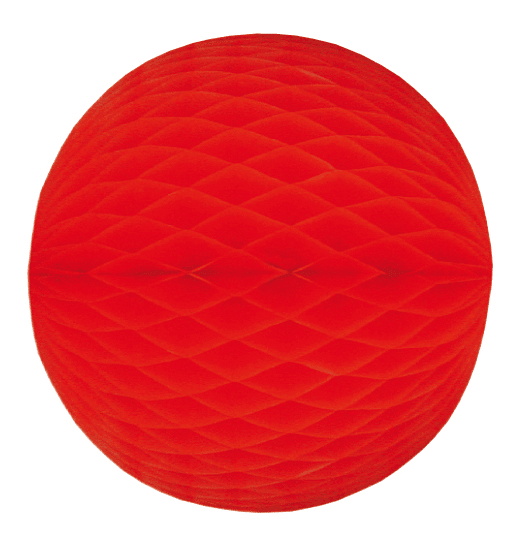 Mini Wabenball rot 6 cm