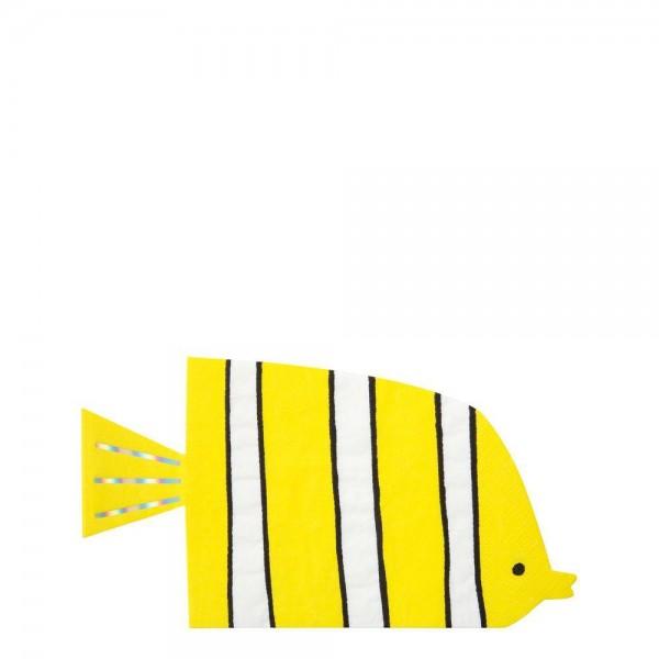 Meri Meri - Servietten Unterwasserwelt Fische