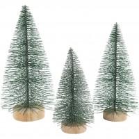 Tannenbäume grün 3er Set