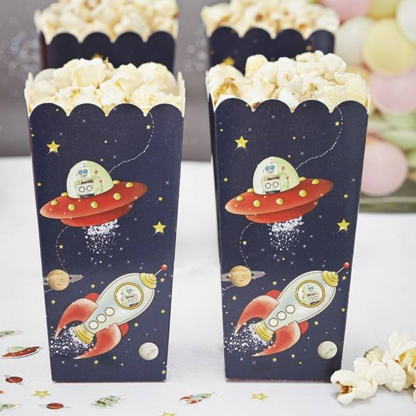 Space Adventure - Astronauten Popcornboxen
