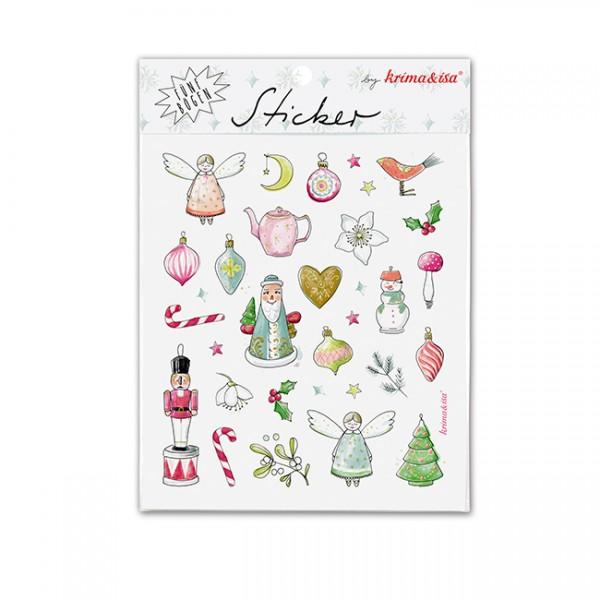 Krima & Isa Sticker Set Weihnachtsliebelei