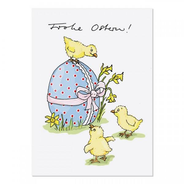 Krima & Isa - Postkarte Ostern Küken