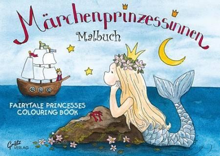 Malbuch Meerjungfrau