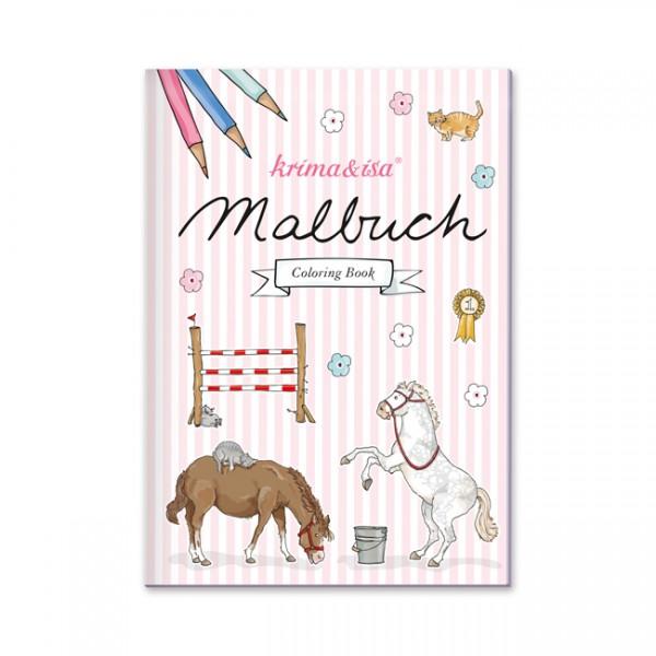 Krima & Isa Malbuch Pony