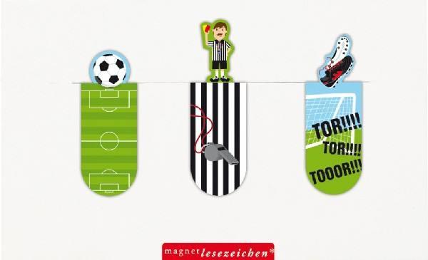Magnet Lesezeichen Fussball