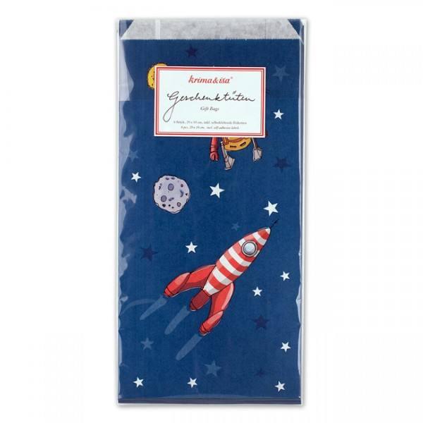 Krima & Isa Geschenktüten Raumfahrt