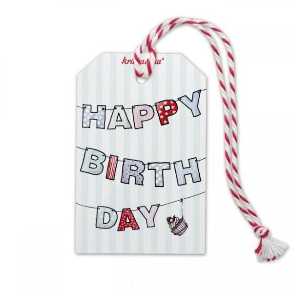 Krima & Isa - Anhänger Girlande Happy Birthday