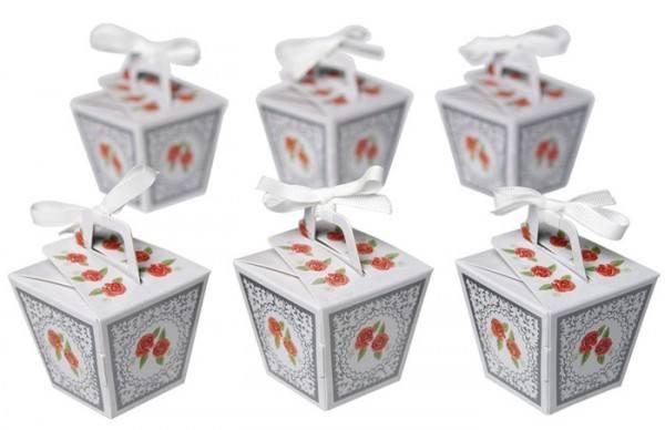 Mini Partybox Floral 6er Set