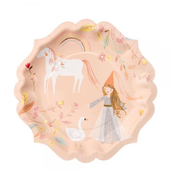 Meri Meri - Pappteller Prinzessin Magical
