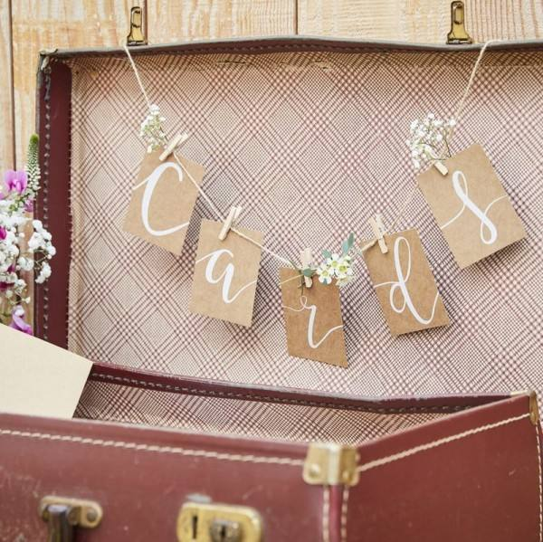 Rustic Country Girlande Cards
