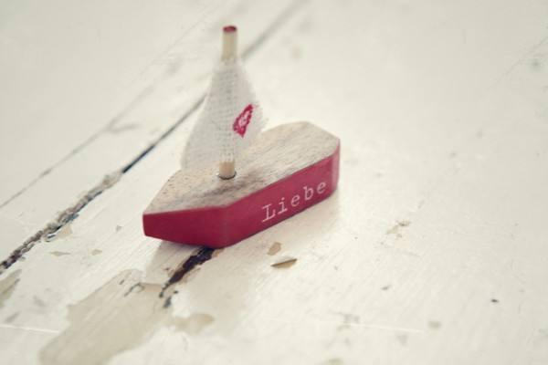 Bootschaftsboot Liebe