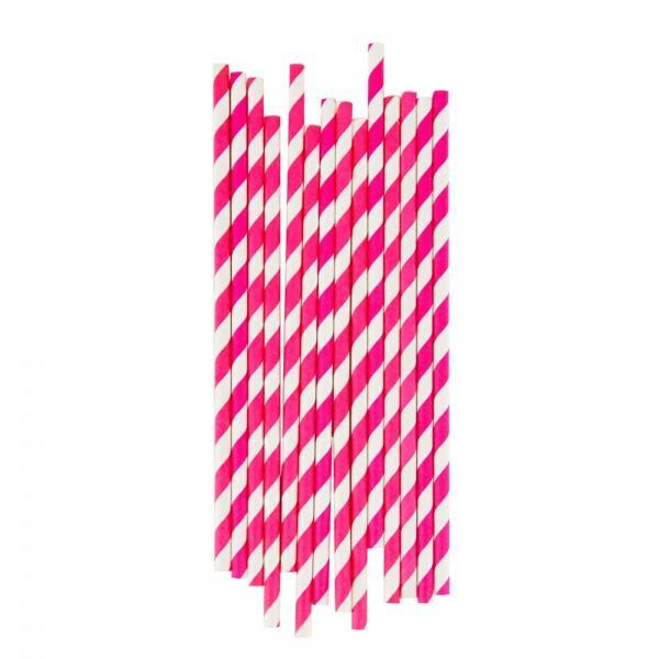 Little Strohhalme pink Streifen