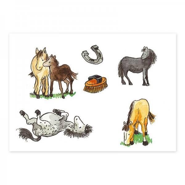 Tattoo Pferde Hufeisen