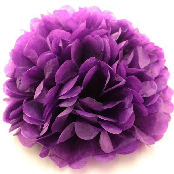 Pom lila div. Größen