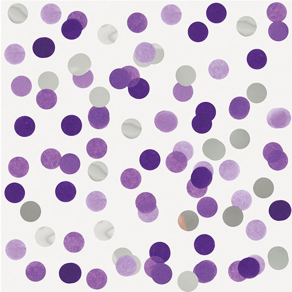 Confetti Mix Folie lila