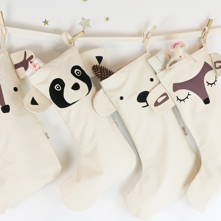 Kalender & Nikolausstrümpfe mit Namen