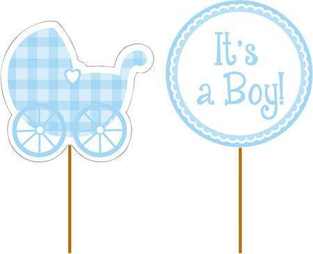 Cupcake Stecker It´s a boy