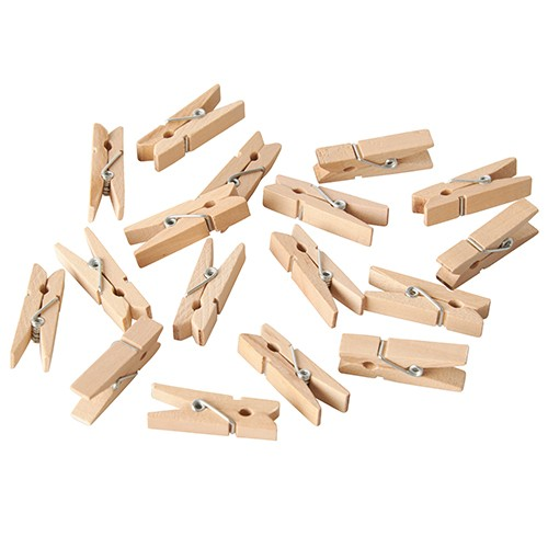 Holzklammer Set mini