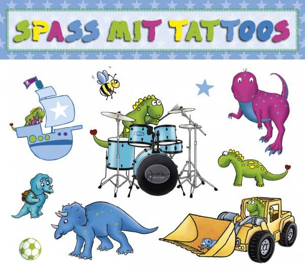 Tattoo Dino Schlagzeug
