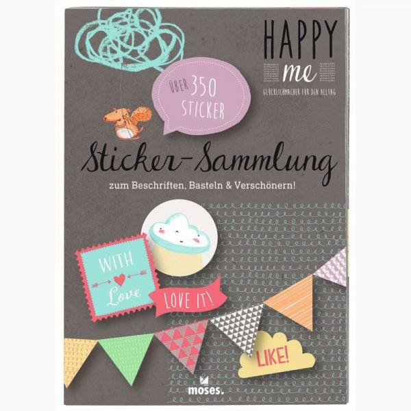 Stickersammlung Happy Me
