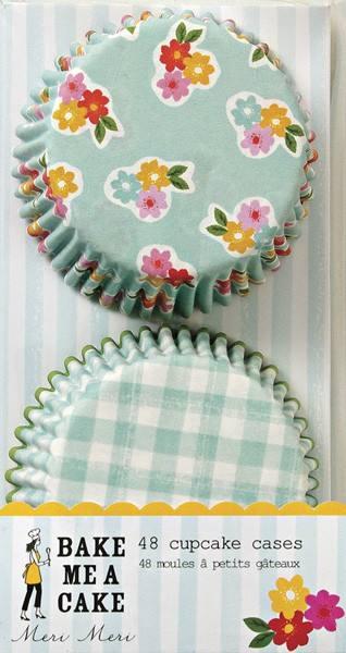 Meri Meri - Muffin Förmchen Blumen