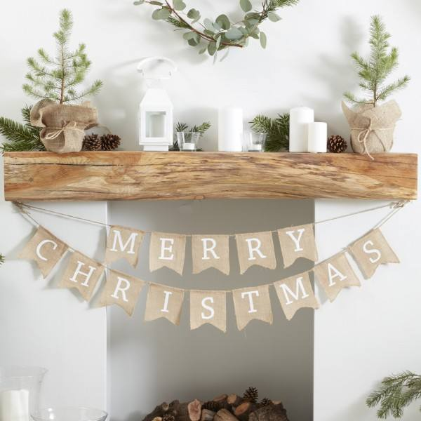 Rustic Christmas - Weihnachtsgirlande