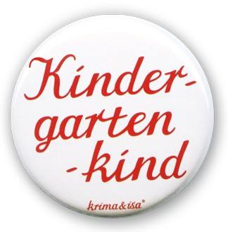Krima & Isa - Button Kindergartenkind