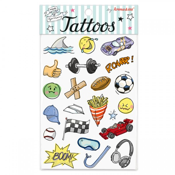 Krima & Isa Tattoo Play