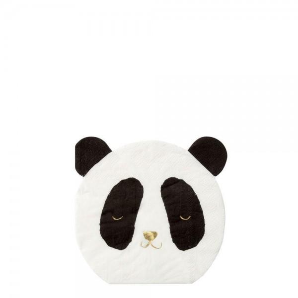 Meri Meri - Papierservietten Panda