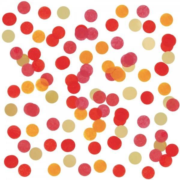 Confetti Mix Folie rot
