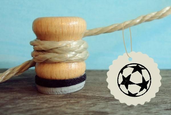Stempel Fussball