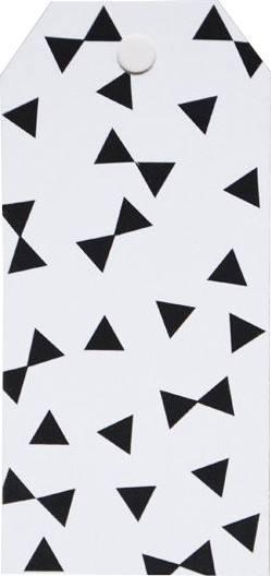 Little Geschenkanhänger schwarz Dreieck