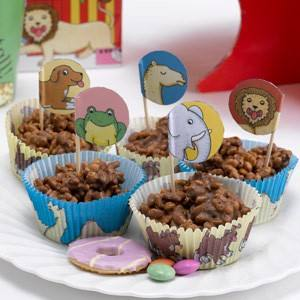 Cupcake Set Zoo
