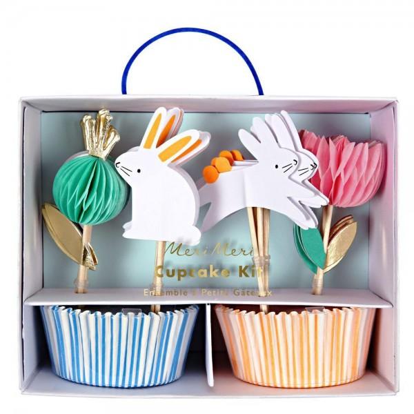 Meri Meri - Cupcake Set Ostern Bunny