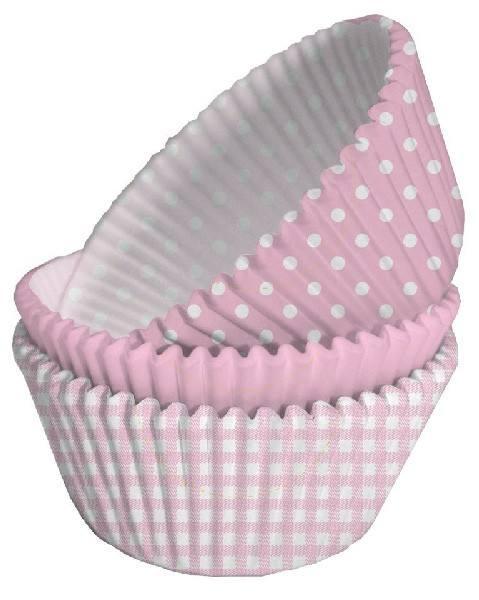 Muffinförmchen Baby Girl
