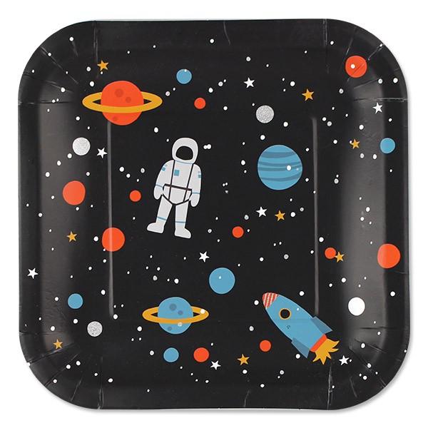 Ava & Yves Teller Weltraum Space