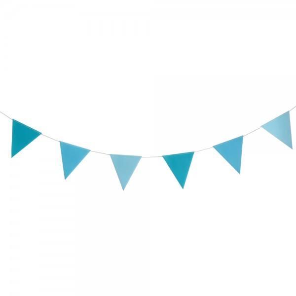 Girlande Set türkis blau