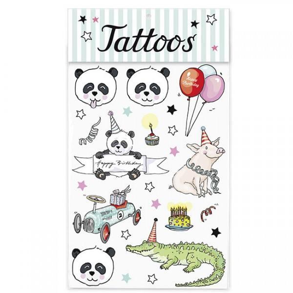 Krima & Isa Tattoo Panda