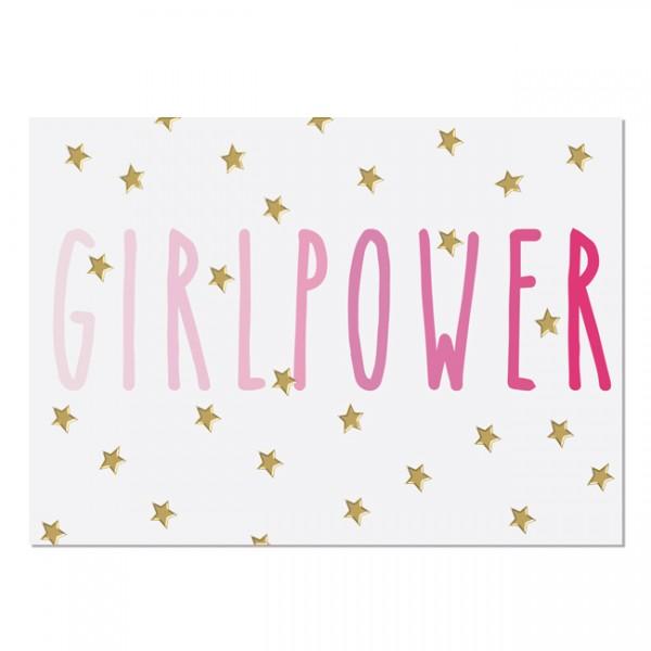 Krima & Isa - Postkarte Girlpower