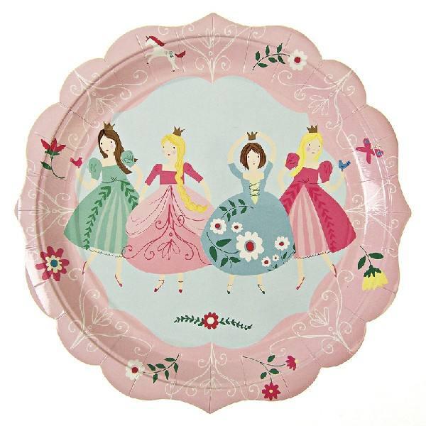 Meri Meri - Pappteller Prinzessin