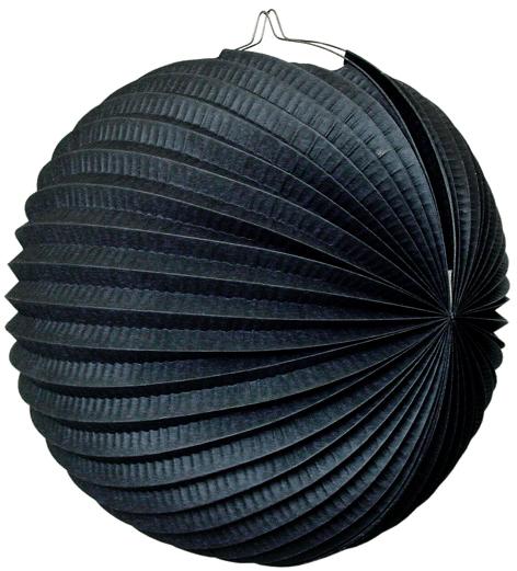 Lampion schwarz