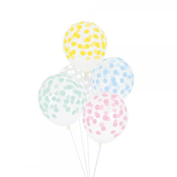 Little Luftballon Konfetti pastel