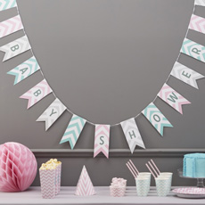Chevron Babyparty