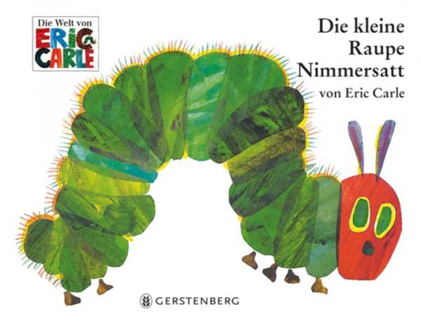 Raupe Nimmersatt Buch mini