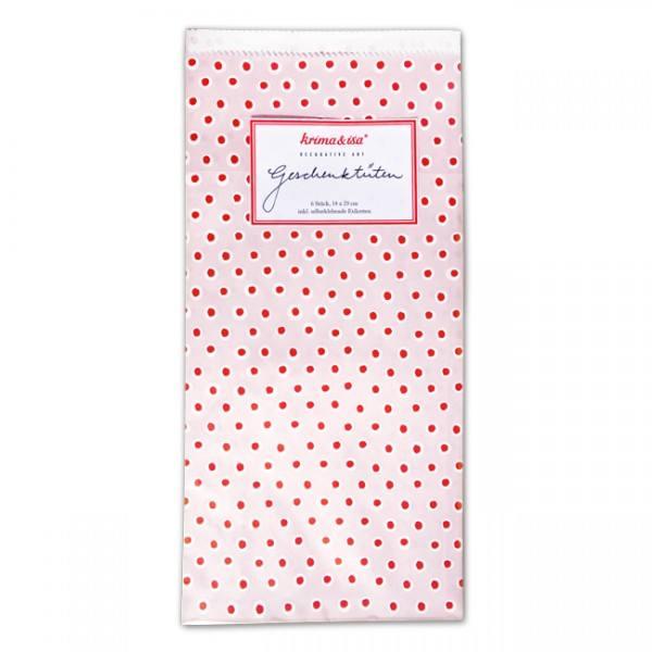 Krima & Isa Geschenktüten Tupfer rosa